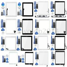 11 Type Touch Screen Digitizer Glass Lens Replacement With Tools For Apple iPad