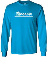 Oceanic Airlines Vintage Logo Fictional US Airline Long-Sleeve T-Shirt
