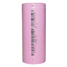 Hixon IFR 26650 3.2V 3200mAh LiFePO4 Rechargeable Cell Battery  Flat Top Battery