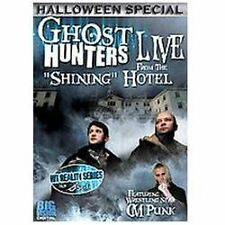 Ghost Hunters: Live From the Stanley Hotel  DVD Jason Hawes Grant Wilson CM Punk