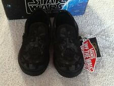 Vans Infant/toddler Star Wars Darth Vader Slip On Shoes/ Sizes: 4- 10/ NWB