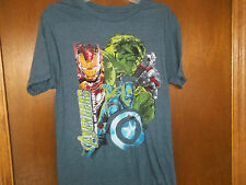 Marvel Avengers cast hulk iron man Capt Thor  t-shirt NWT Small or Medium