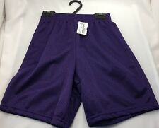 Alleson Basketball Extreme Mesh Shorts Purple Adult & Youth Sizes NEW NWT