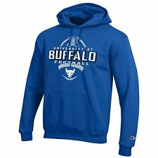UB Bulls, University at Buffalo Football Hoodie  NCAA Blue