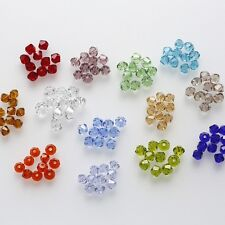 4mm 100pcs AAA Bicone jewelry crystal beads loose Glass Beads for Jewelry Making