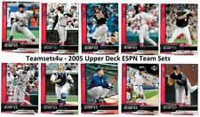 2005 Upper Deck ESPN Baseball Set ** Pick Your Team **