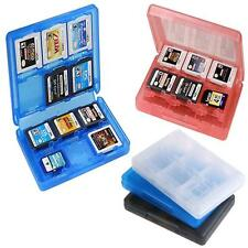 28 in 1 Game Card Case Holder Cartridge Storage Box for Nintendo 3DS DSL DSi @SS