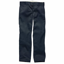 Dickies Wp873 Slim Straight Work Mens Pants Chino - Dark Navy All Sizes