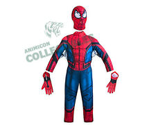 Disney Store SPIDERMAN COSTUME For Kids Spider Man Homecoming Mask Gloves 2017