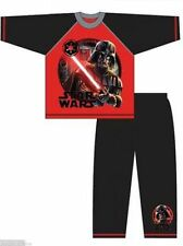 Boys STAR WARS EPISODE 7 DARTH VADER Long Sleeved Pyjamas Ages 4-10 Years