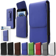 Premium PU Leather Vertical Belt Pouch Holster Case for Samsung T469 Gravity 2