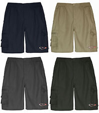 Mens Shorts Combat Cargo Beach Summer Holiday Zip Fly Pocket Work Shorts M-XXXL.