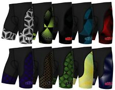 New Mens Qualität Cycling Shorts Padded Lycra Pants Bike Bottom Bicycle Leggings