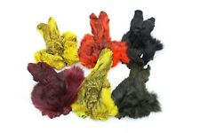 1 pcs 6 Colors Dyed Hare's Mask Hares Dubbing Rabbit Face Fly Tying Materials