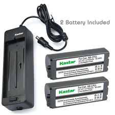Kastar Battery Canon SELPHY CP-400 CP-710 CP-730 CP-770 CP-900 CP-910