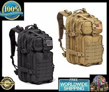 Military Tactical Assault Pack ARMY Backpack MOLLE Out Bag Waterproof Hunting