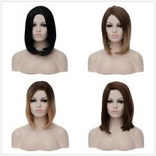 Straight Short Hair Ladies Womens Fancy Dress Bob Style Full Wig Party Cos Wigs