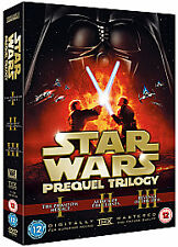 Star Wars - Prequel Trilogy (DVD, 2008, 6-Disc Set, Box Set) 6 DISC SET