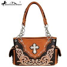 Montana West Handbag Satchel Cross Collection Purse