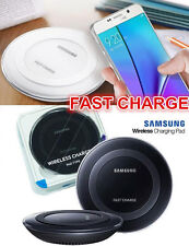 Genuine Qi Wireless Pad Fast Charging Charger Pack for Galaxy S6 S7 Edge+ Note 5