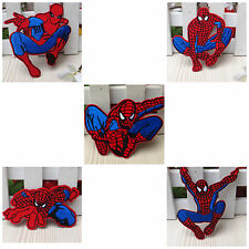 Embroidered Patches Spiderman Sew Iron On Patches Garment Badge Appliques