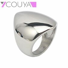 Fashion Silver Color Rings for Women Unquie Shape Ring Rose Gold Color Band Ring