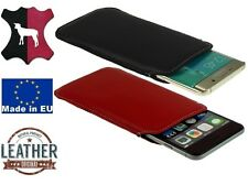 LAMB LEATHER HANDMADE FINE COMFORTABLE CASE COVER POUCH SLEEVE FOR MOBILE PHONE