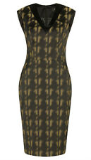 BNWT CUE Campaign blurred hounstooth dress Sz 6 & 8 RRP$275