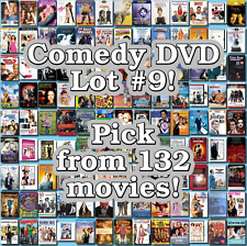 Comedy DVD Lot #9: 132 Movies to Pick From! Buy Multiple And Save!
