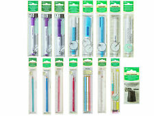 Clover Marking Tools Pens Pencils Marker Fabric Craft Quilting Tracing Air Water