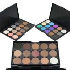 New 15 Colors Natural Eyeshadow Smoky Cosmetic Eye Shadow Makeup Palette Set