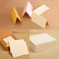 50Pcs Blank Table Name Place Cards Three Colours Christmas Partys Wedding Supply
