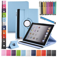 For Apple iPad 5 6 Air 2 3 4 Mini Flip Smart 360° Rotating Leather Case Cover