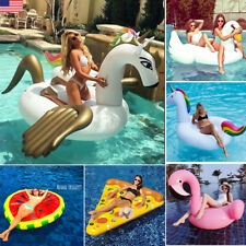 108'' 78'' Giant Unicorn Pegasus Pizza Pegasus Float Swimming Water Pool Floats