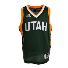 Utah Jazz Youth Wordmark Swingman Jersey (Green)
