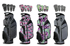 Taboo Fashions Monaco Lightweight Cart Bag Bundle with Club Covers!