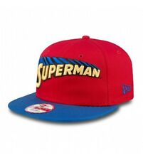 NEW ERA Snapback SUPERMAN Hero Mark Red Blue DC Comics cap 9Fifty