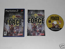 GLOBAL DEFENCE FORCE for PLAYSTATION 2 'VERY RARE & HARD TO FIND'