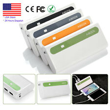 10000mAh Mobile Power Bank Pack External Portable Battery Charger for Cell Phone