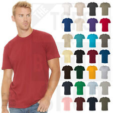 Next Level Mens Premium Crew Neck T-Shirt Soft Fitted Basic Plain Tee - 3600