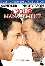 Anger Management (DVD, 2003, Widescreen Special Edition) UPC 043396014879