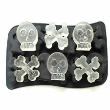 Silicone Tray Mould Ice Molds Mold Cube Bar Party Jelly Maker Skull Food-grade D