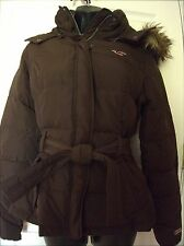Hollister by Abercrombie Womens Hoodie Bomber Coat Jacket Sz M/L- NWT $140
