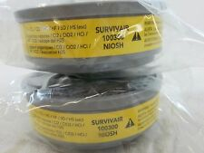 Survivair Air Cartridges Filters Respirator B100300 Organic Vapor Acid Gas NIOSH
