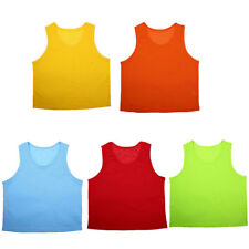 Training Vest Team Practice Soccer Bib for Adult Basketball Football Volleyball