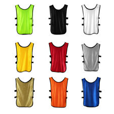 Adult Outdoor Exercise Breathable Soccer Bib Basketball Sports Training Vest