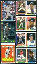 Roberto Alomar - Gary Sheffield #109-202/57 1990 Topps sticker
