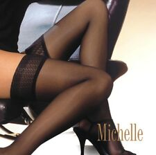 "Ladies Womens  HOLD UPS ""Michelle"" Lace Top Gatta"