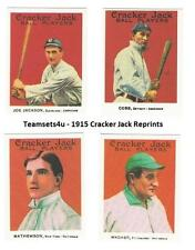 1915 Cracker Jacks Reprints Baseball Set ** Pick Your Team **