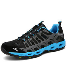 Mens Fashion Big Size Running Hiking Shoes Breathable Non Slip Walk Sports Shoes